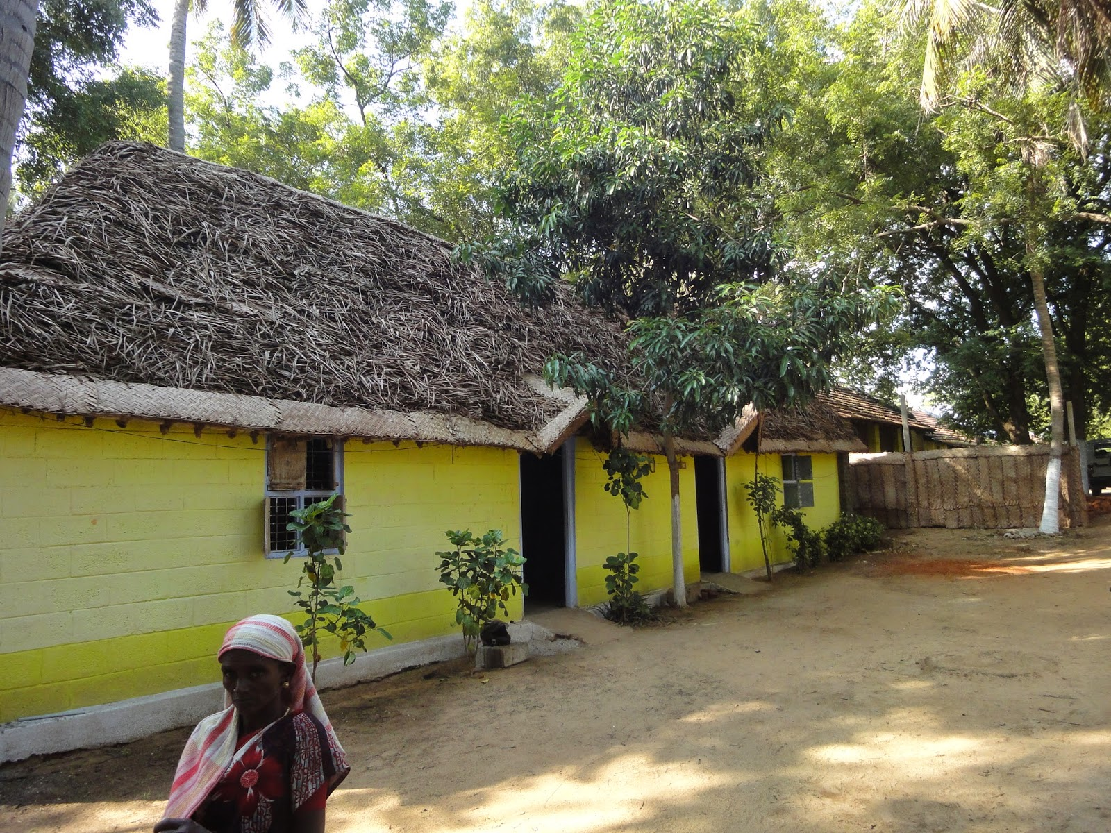 Ngo News Blog Newsline Sevai Amour Cottages Roofed With