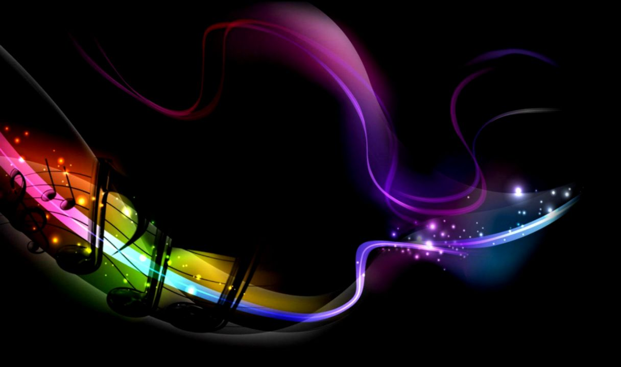 Rainbow Music Notes Background Hd Wallpaper Background Images: Cool Music Note Backgrounds