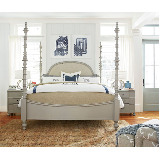 Farmhouse Master Bedroom-Paula Deen Dogwood Bed- From My Front Porch To Yours