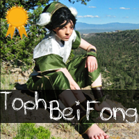 http://albinoshadowcosplay.blogspot.com/2014/01/toph-bei-fong-photo-gallery.html