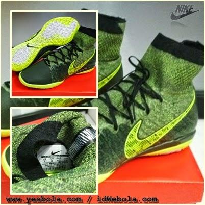 Sepatu Futsal Nike Elastico Superfly Army