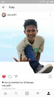 Edit Foto Unik Keluar dari Instagram