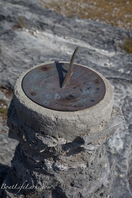 Sun dial, the Hermitage, Cat Island