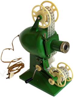 La versión más común de cine Stuk era de color verde