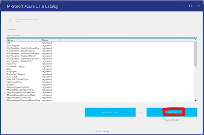 Azure Data Catalog - Accessing your Catalog