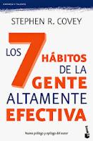 Stephen Covey libro Los 7 habitos de la gente altamente efectiva