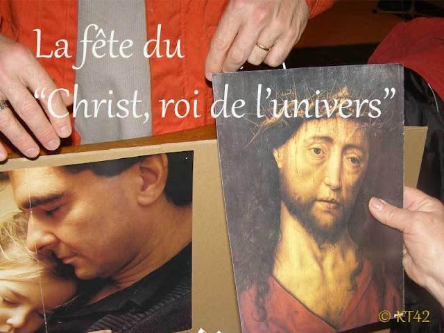 Caté : le Christ-Roi