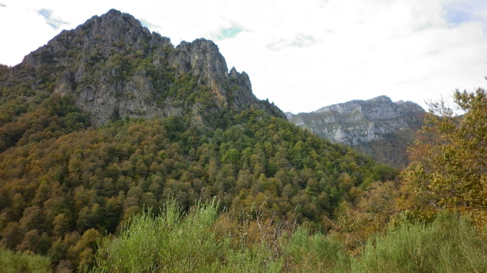 Vistas al Cuitu Negru y al Canto del Oso.