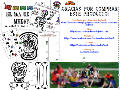 https://www.teacherspayteachers.com/Product/El-dia-de-los-muertos-2166519