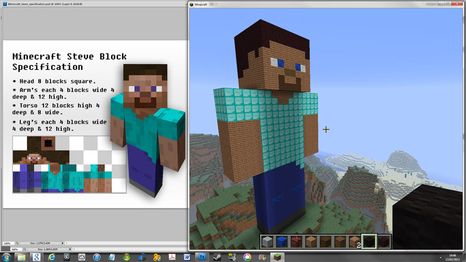 Minecraft Pixel Art Building Ideas How To Build A Minecraft Character