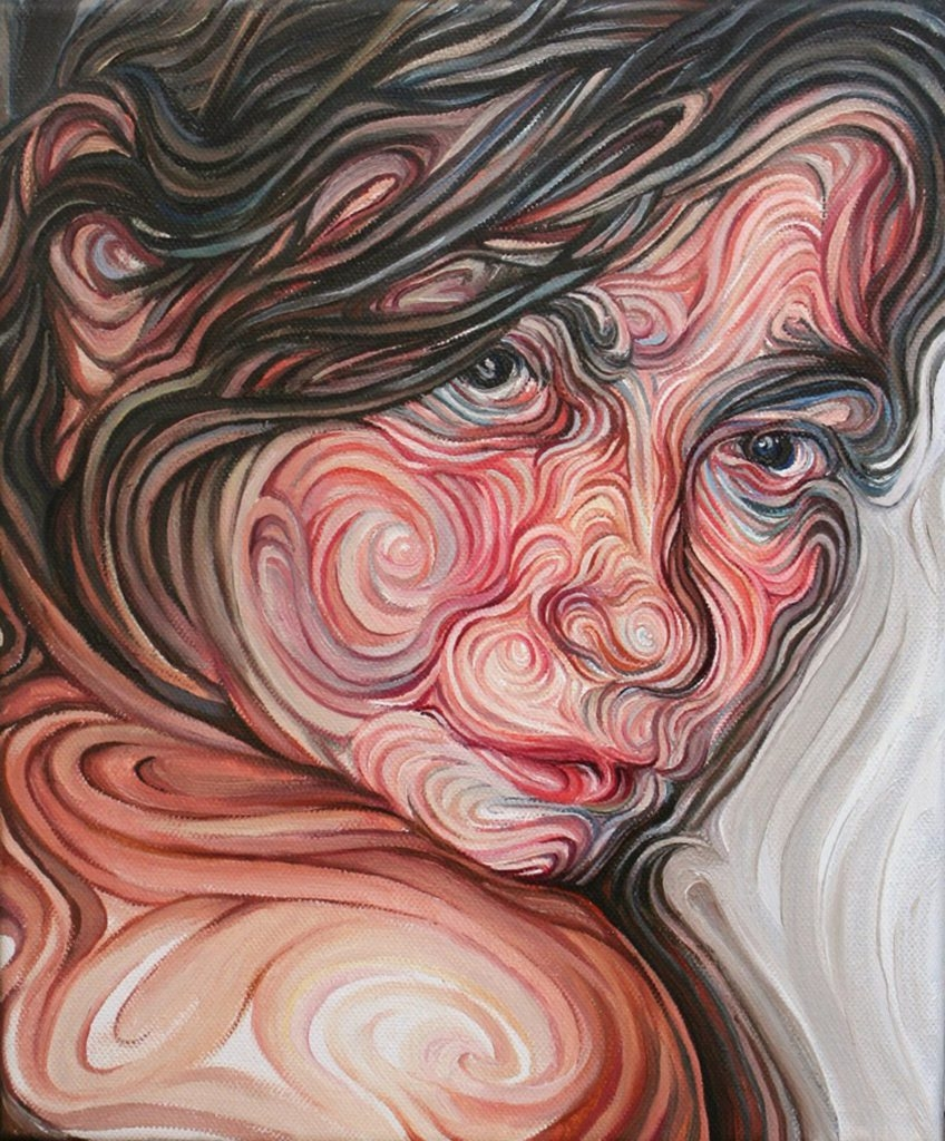 06-Eleftheria-Nikos-Gyftakis-Swirls-of-Colors-and-Shapes-used-in-Portrait-Paintings-www-designstack-co