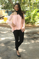 Rakul Preet Singh in lovely Pink Crop Top and Black Trousers at Jaya Janaki Nayaka success meet 077.JPG