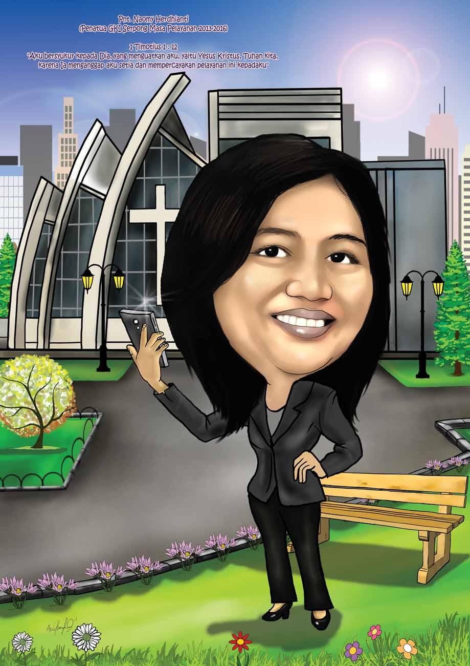Jasa Karikatur Wajah Karikatur Digital Dan Manual Karikatur