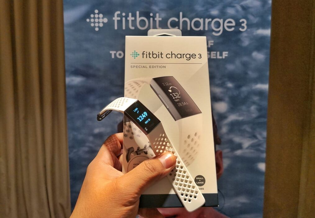 Fitbit Charge 3 Launches in the Philippines for Php9,990