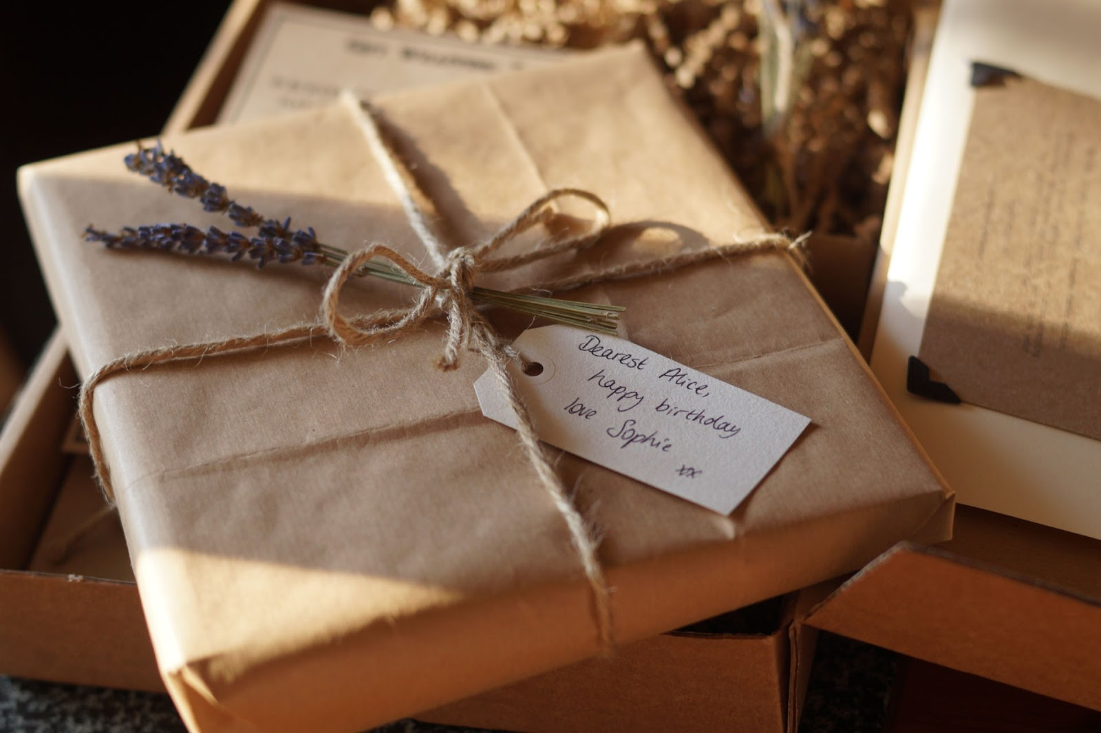Very Brown Paper Packages Rustic Wrapping Box Review + Giveaway  YV75