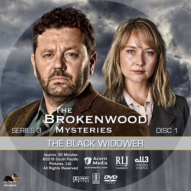 The Brokenwood Mysteries Season 3 Disc 1 DVD Label