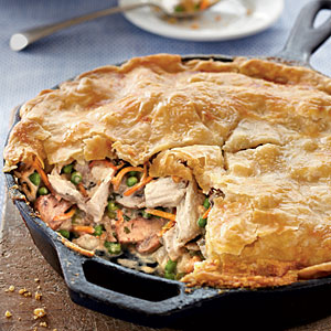 One pot chicken pie