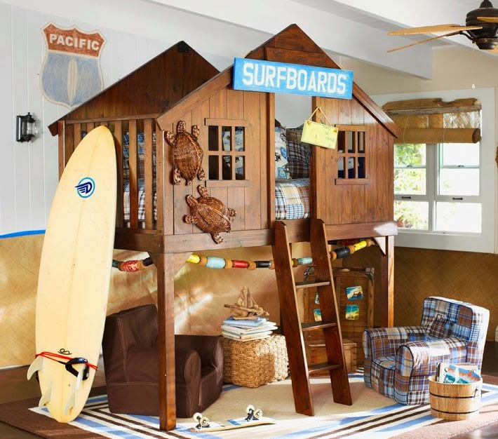 The Boo And Boy Treehouse Beds. Tree House Bedrooms Bedroom Style Ideas