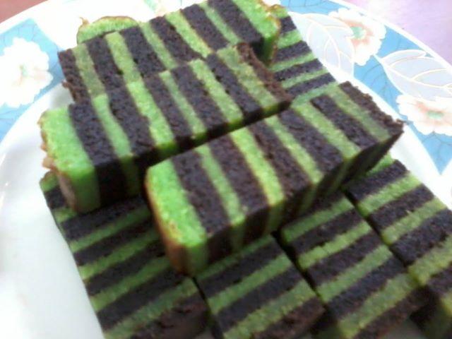 resepi masakan mudah: Kek Lapis Pepperrmint Coklat