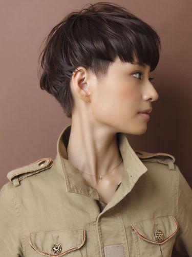 La moda en tu cabello Cortes de Pelo corto con flequillo recto 2016