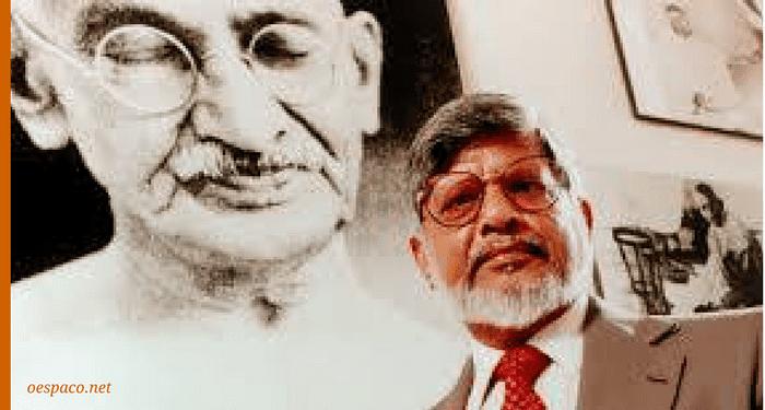 arun gandhi e mahatma pela não-violência