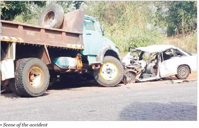 Fuel tanker ran into bus, kills two in Anambra