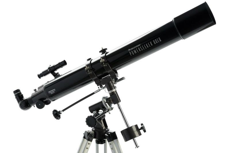 Ulasan teleskop: celestron powerseeker 80eq info astronomy