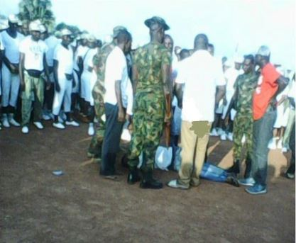 Corper Battling For Life After Assault By Soldier In NYSC Camp