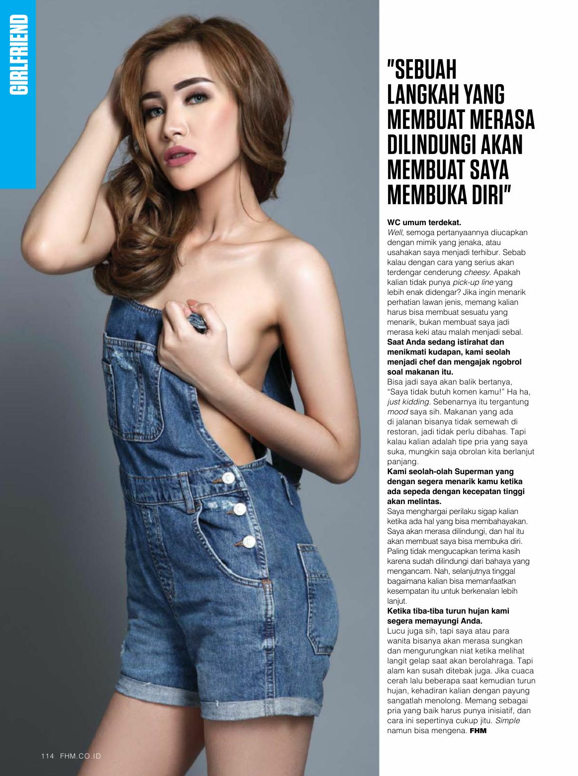 Regina Frissilia ~ FHM Indonesia Magazine May 2016