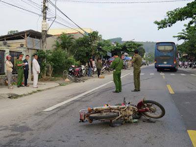 Quảng Ngãi Tai nạn liên hoàn 1 người chết 2 người bị thương