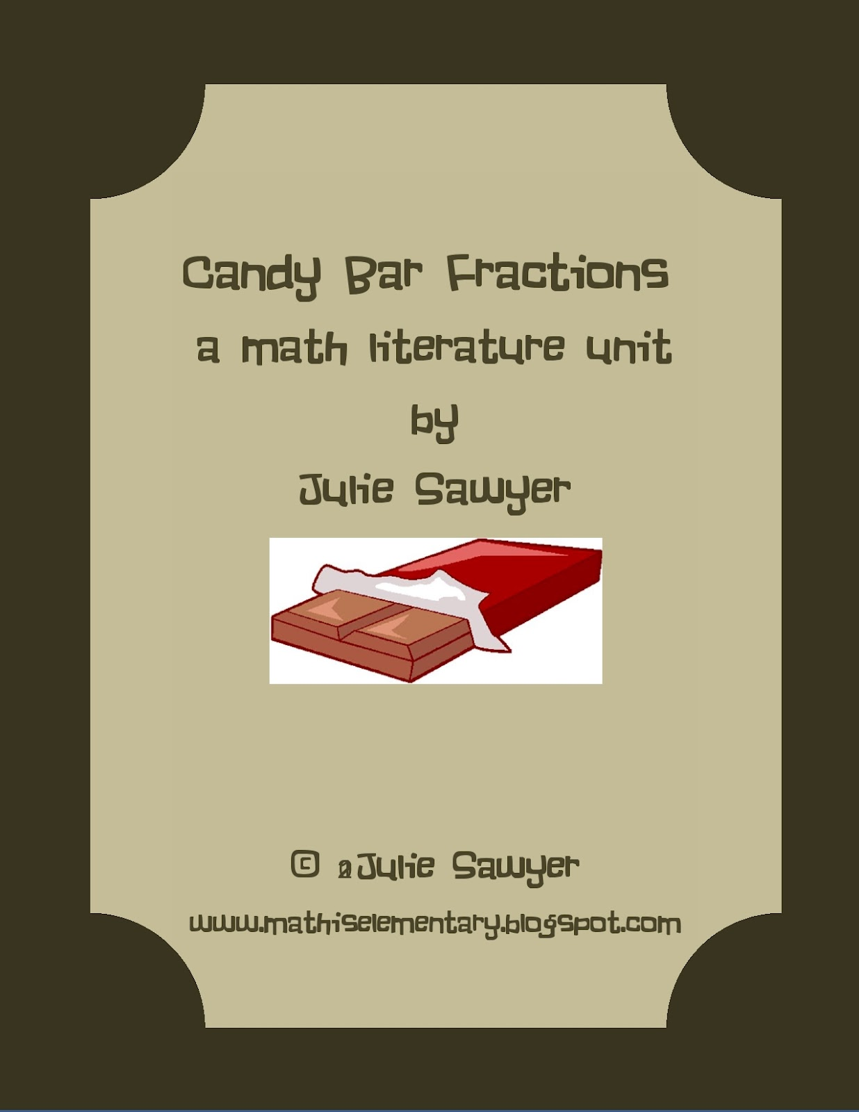 Math Literature The Hershey S Milk Chocolate Fractions