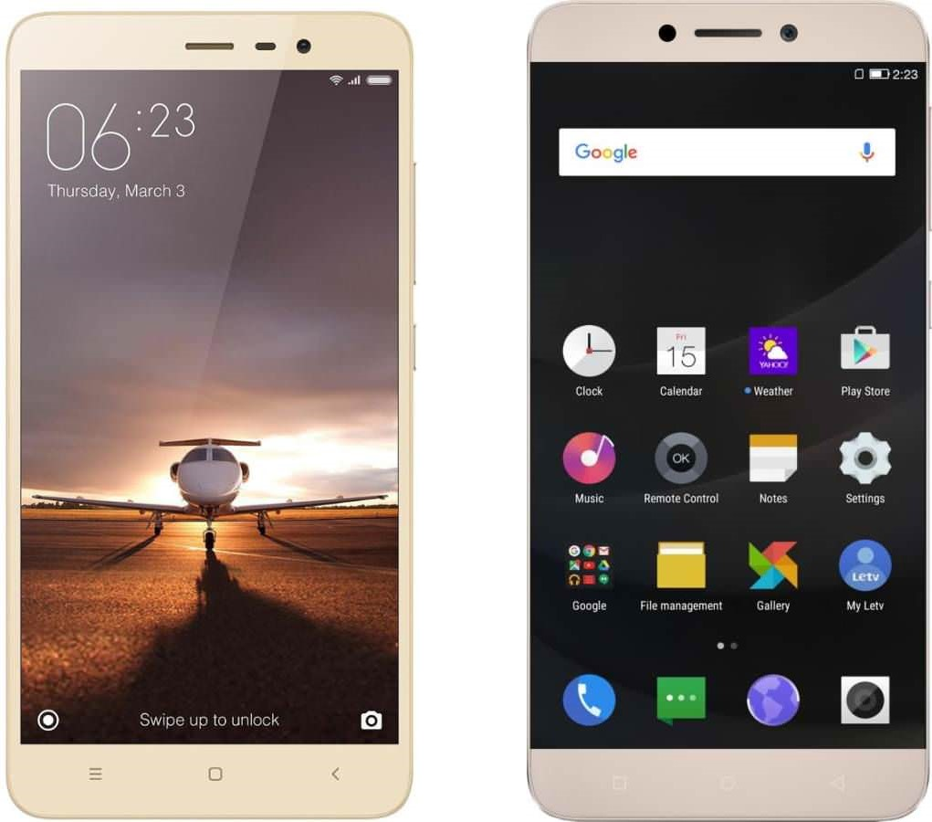 Xiaomi Redmi Note 3 Vs Leeco Le 1s The Much Hyped Budget Ram 2 16 Gb Its A Really Neat Fast And Secure Method Of Unlocking Getting Access To Your Phone
