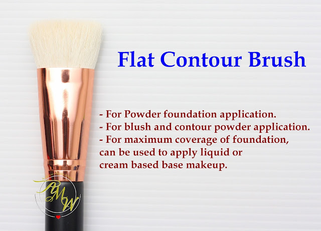a photo of Riot Flat Contour Brush