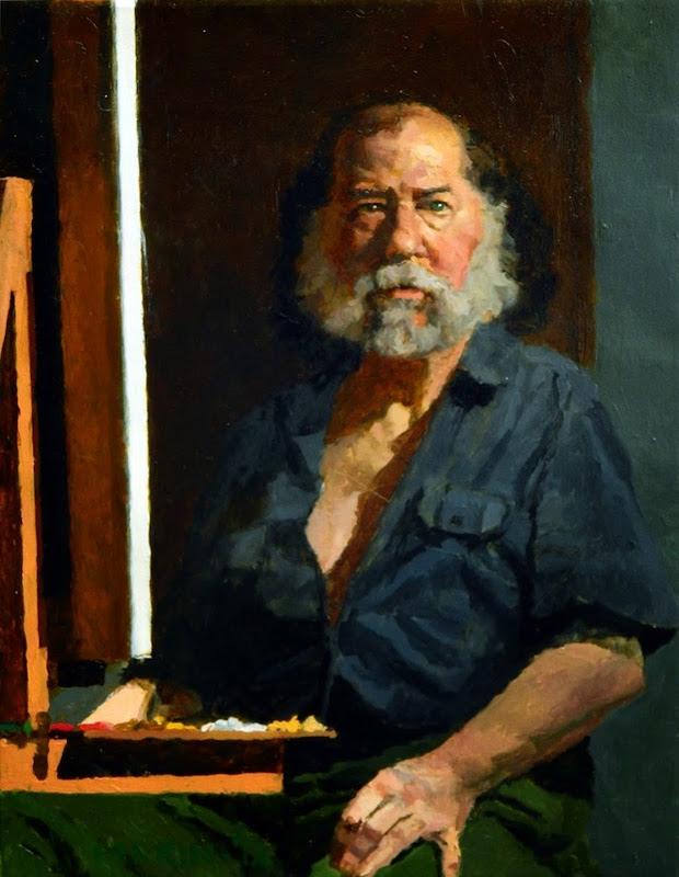 Douglas Ferrin,  International Art Gallery, Self Portrait, Art Gallery, Portraits of Painters, Fine arts, Self-Portraits, Painter Douglas Ferrin
