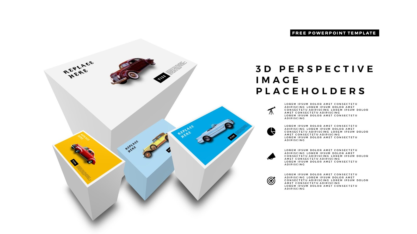 perspective 3d image transformation for powerpoint templates, Umd Presentation Template, Presentation templates
