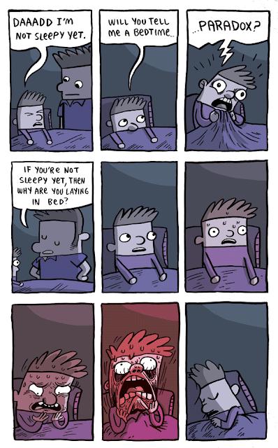 Gun Show Comic: bedtime paradox