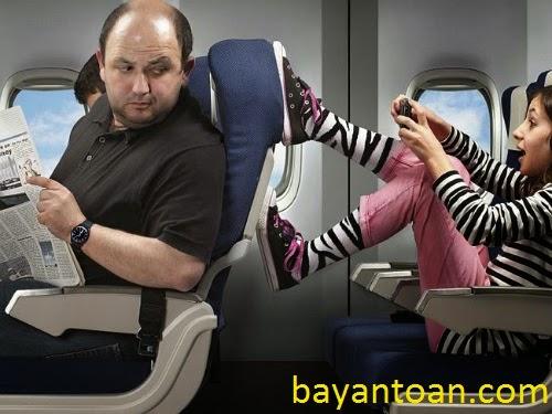 Bí quyết chọn chỗ ngồi tốt trên máy bay