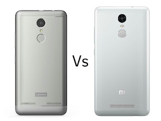 Lenovo K6 Power vs Xiaomi Redmi Note 3