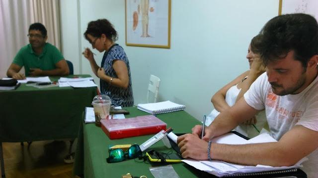 Φωτορεπορτάζ από τα καλοκαιρινά τμήματα εκμάθησης επαγγελματικού μασάζ και Su Jok