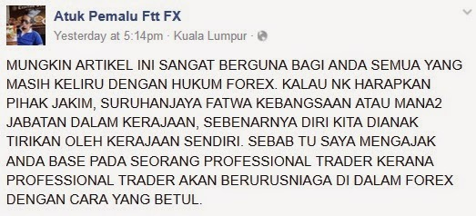 Kenapa forex haram di malaysia