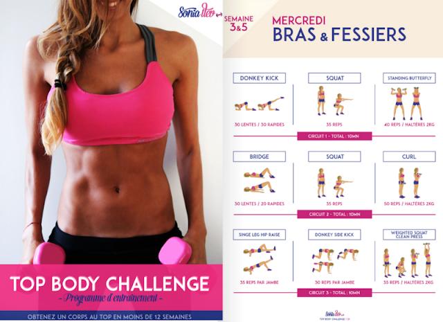 Top Body Challenge di Sonia Tlev [la mia esperienza]