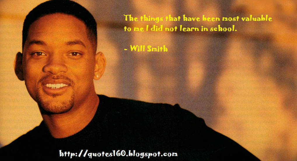 Famous Quotes By Will Smith   Quotes160 I want the world to be better because I was here    Will Smith