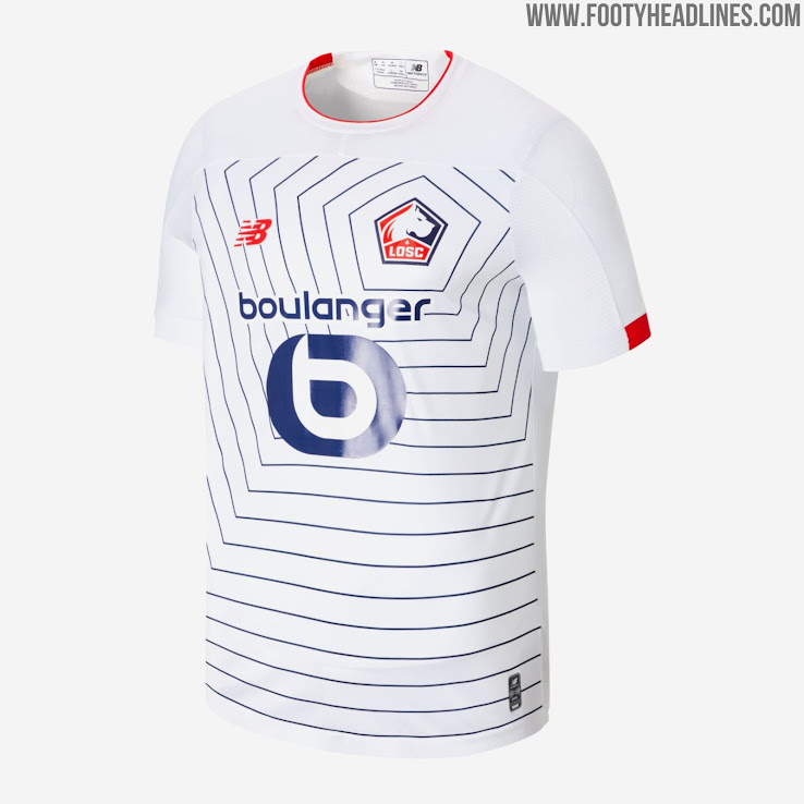 the best attitude 1797d 1fc77 Lille 19-20 Home, Away & Third Kits Released - Footy Headlines