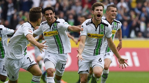 Borussia Monchengladbach đang có phong độ cao trong mùa giải
