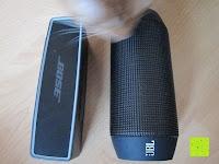 Boxen: Tragbare Tragetasche Lycra EVA Spielraum-Speicher-Schutzhülle Box Bag für Bose Soundlink Mini and Soundlink mini Ⅱ Bluetooth Wireless Speaker-Black