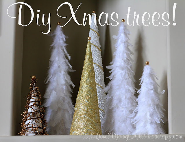 DIY Christmas Trees | Easy Holiday Decor Craft
