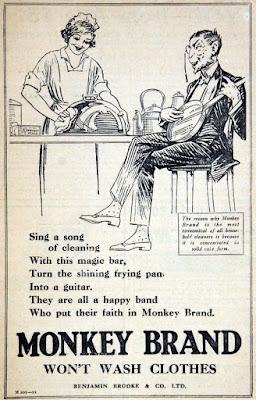 Monkey Brand - Won't Wash Clothes