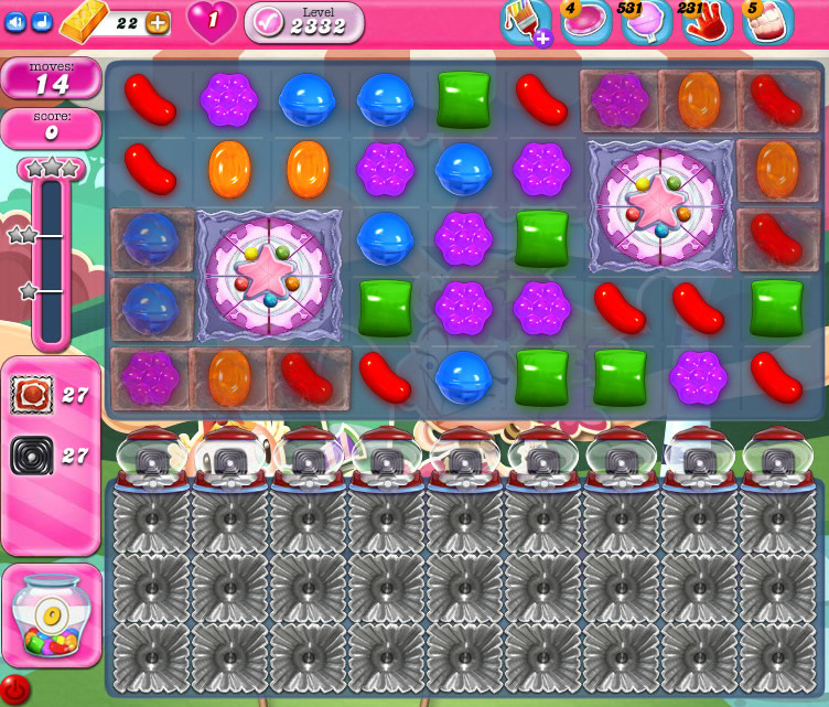 Candy Crush Saga level 2332