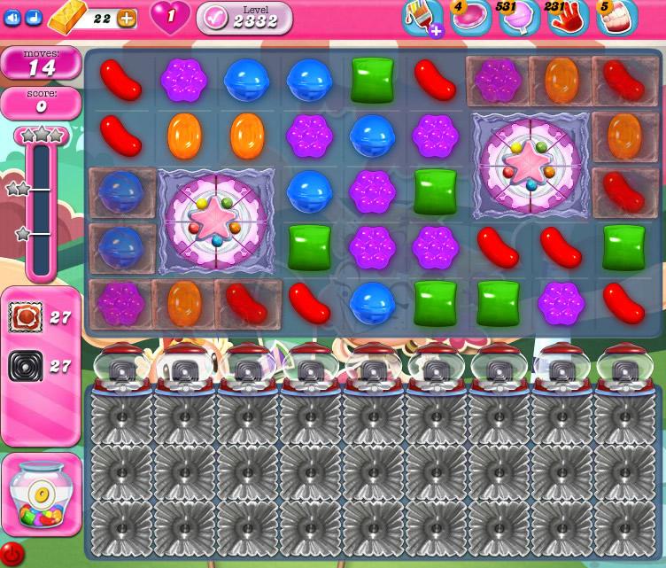 Candy Crush Saga level 2332